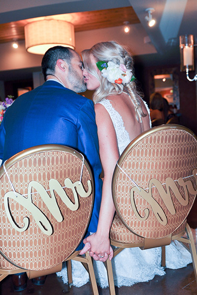 Real Wedding Kisses at Kimpton Monaco Denver