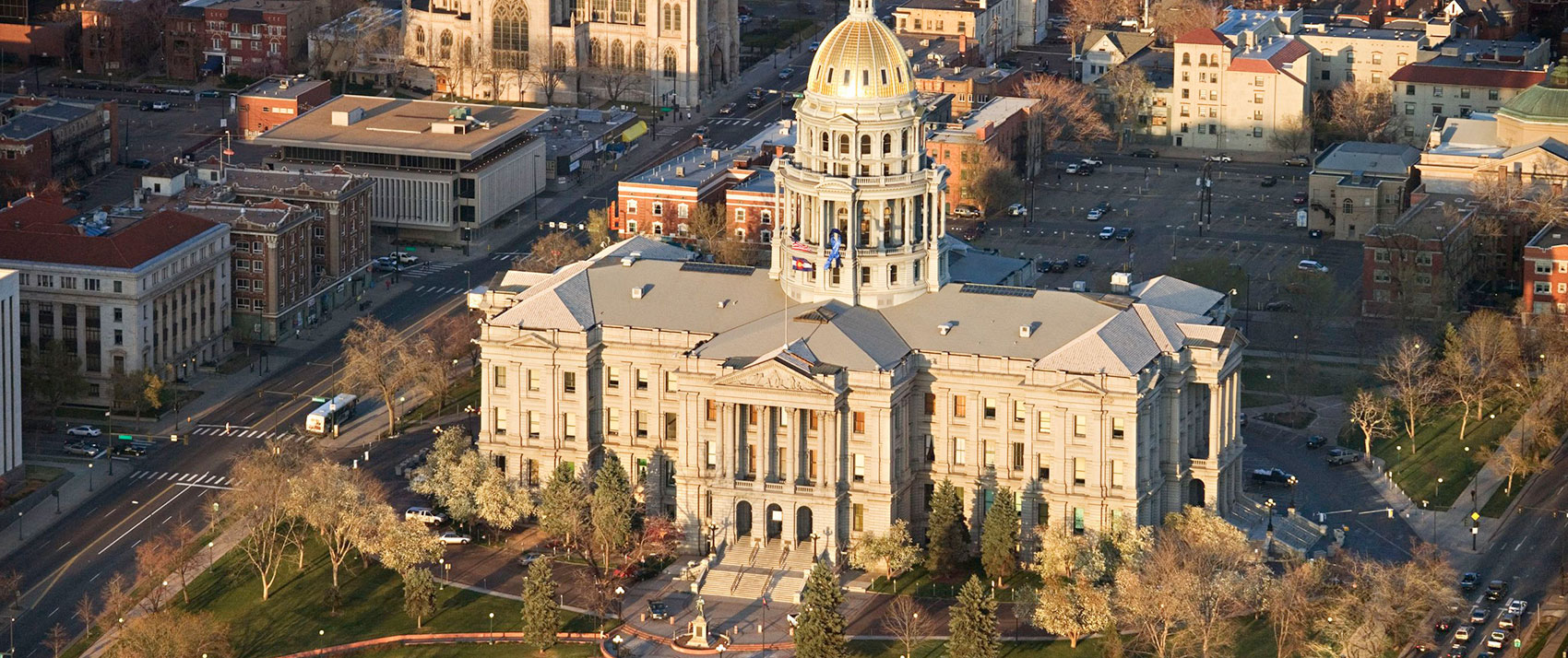Monaco Denver Downtown Capital Building View
